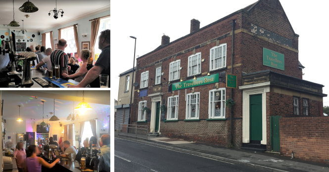 Pub The Travellers Rest, Milpit, Houghton Le Spring, County Durham DH4 4JT