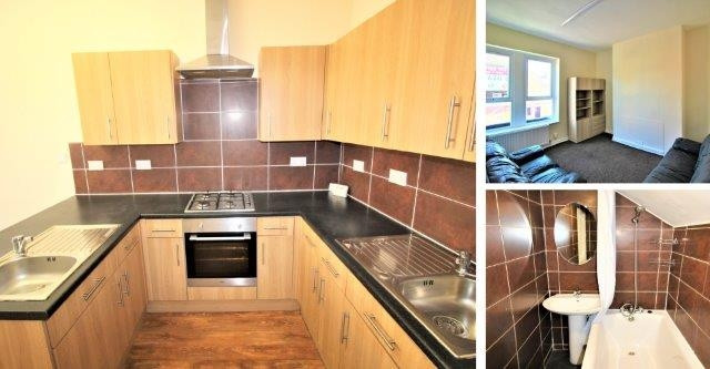 Flat on Coatsworth Road, Gateshead, NE8 1SR