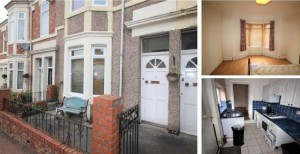 Flat on Inskip Terrace, Bensham, Gateshead, NE8 4AJ