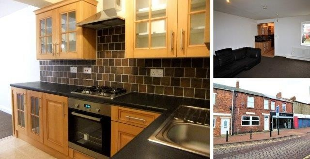 Flat in Woods Terrace, Murton, Seaham, County Durham, SR7 9AF