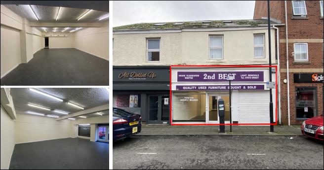 Retail Unit & Lock Up Nile Street, North Shields, NE29 0BG